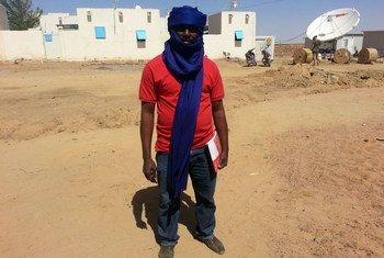 UN Volunteer Joseph Agbor Effim was deployed in Kidal, in Northern Mali, in 2014.