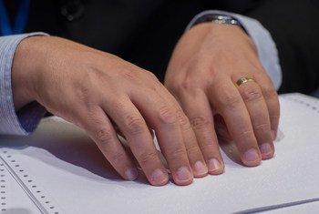 В ООН провозгласили 4 января Всемирным днем азбуки Брайля