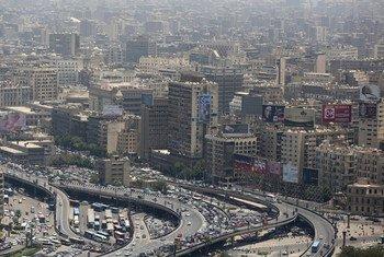 La ville du Caire, en Egypte. Photo Banque mondiale/Dominic Chavez