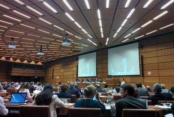 联合国外层空间事务厅召开会议。