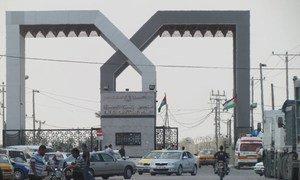 Le point de passage de Rafah entre l'Egypte et Gaza (archives). Photo OCHA