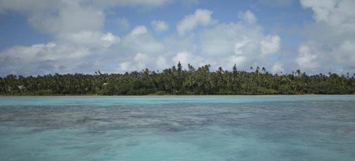 Climate change poses a threat to survival in the Southwest Pacific, and in most of the small islands around the globe.