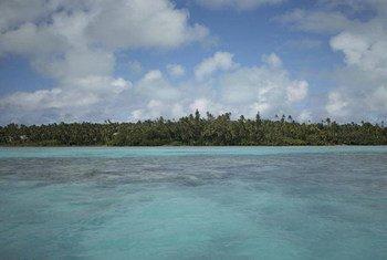 Изменение климата  угрожает  жителям     малых островных государств. Фото ФАО