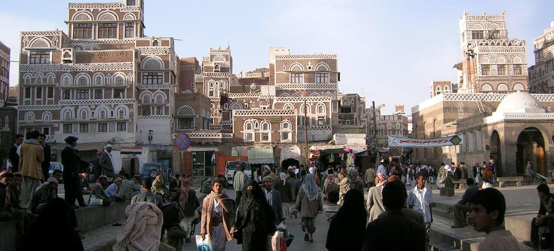 مدينة صنعاء القديمة في اليمنمن صور اليونسكو/فرانسيسكو باندارين
