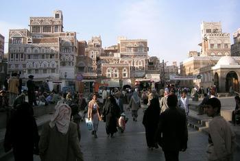 La Vieille ville de la capitale yéménite, Sanaa. Photo : UNESCO / Francesco Bandarin