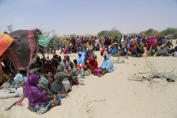 Нигерийцы, бежавшие в Нигер от «Боко харам» Фото ВВП/Вигно Хунканли