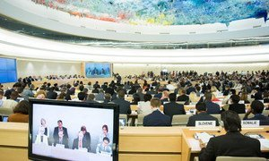 Opening of the 29th regular session of the Human Rights Council in Geneva, Switzerland.
