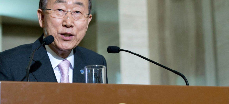 El Secretario General de la ONU, Ban Ki-moon. Foto de archivo: ONU/Jean-Marc Ferré