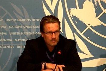 WHO spokesperson Christian Lindmeier.