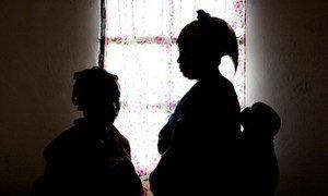 Des victimes dans de violences sexuelles dans un refuge à Goma, en République démocratique du Congo.