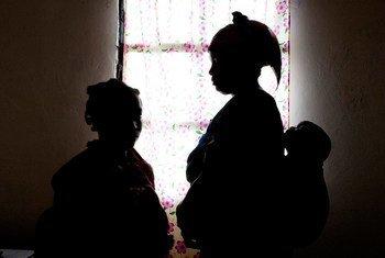 Des victimes de violences sexuelles dans un refuge à Goma, en République démocratique du Congo (archives).