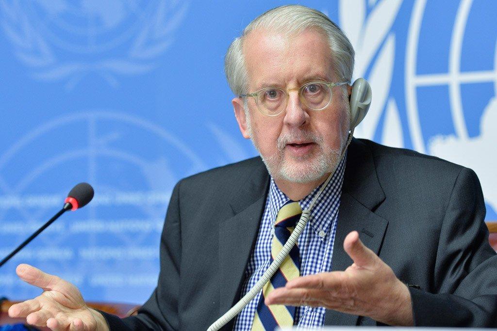 Le Président de la Commission d'enquête internationale indépendante sur la République arabe syrienne, Paulo Sérgio Pinheiro. (archive)