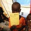Des enfants au Soudan du Sud dans un site de protection des civils à Juba. Photo : UNICEF / Soudan du Sud / 2015 / Claire McKeever
