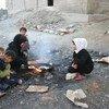 Millones de civiles sufren en Siria las consecuencias de los enfrentamientos y precisan ayuda humanitaria urgente, entre ellos un gran número de niños. Foto de archivo: OCHA/Josephine Guerrero