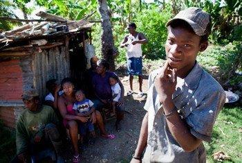 Migrante haitiano en la República Dominicana. Foto: ACNUR/Jason Tanner