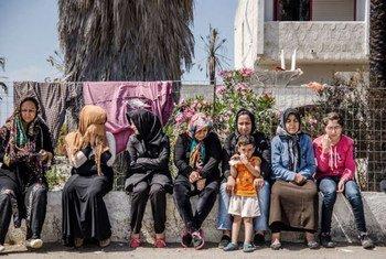 Афганские беженцы в  Греции. Фото УВКБ