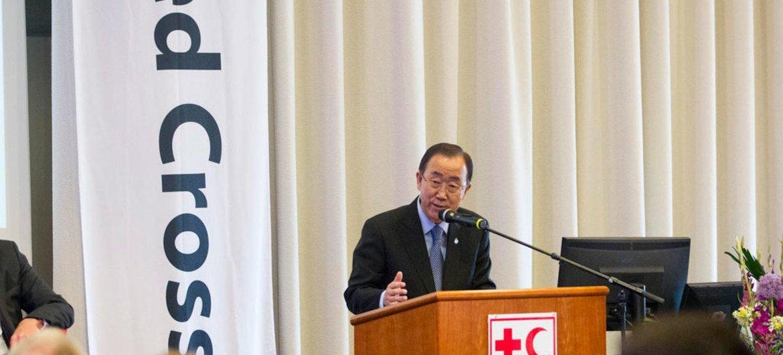 Пан Ги Мун на форуме в  Осло. Фото ООН
