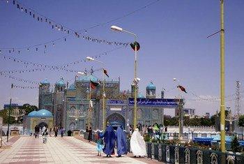 Une mosquée en Afghanistan (archive)