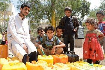 Жители  Саны. Фото  Управления ООН по координации гуманитарных вопросов