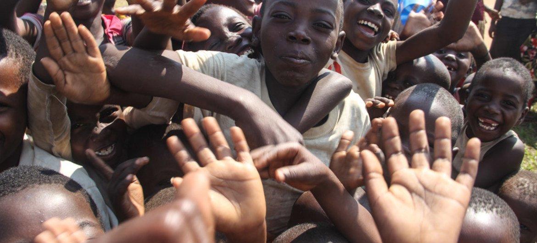 Refugees from Burundi in South Kivu, Democratic Republic of the Congo (DRC).