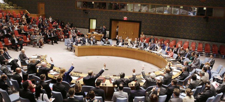 安理会会场。联合国资料图片/Devra Berkowitz