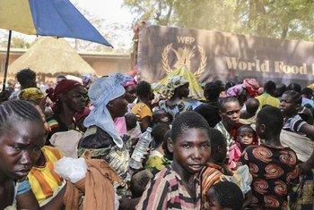 ВВП оказывет помощь более 40 000 жителям Бамбари в ЦАР. Фото ВВП/Дауда Гиру