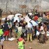 Distribucion de ayuda en la Republica Centroafricana Foto:OCHA