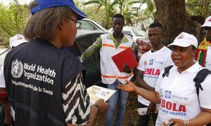 Helping Guinean communities fight Ebola.