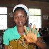 Electora en los comicios presidenciales del 21 de julio en Burundi. Foto: Misión Electoral de la ONU en Burundi (MENUB)