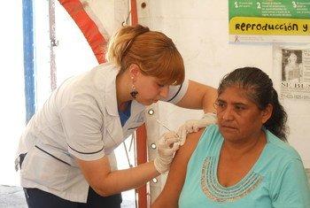 Иммунизация против гепатита C Фото ВОЗ