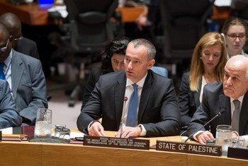 Le Coordonnateur spécial de l'ONU pour le processus de paix au Moyen-Orient, Nickolay Mladenov. Photo ONU/Loey Felipe (archives)
