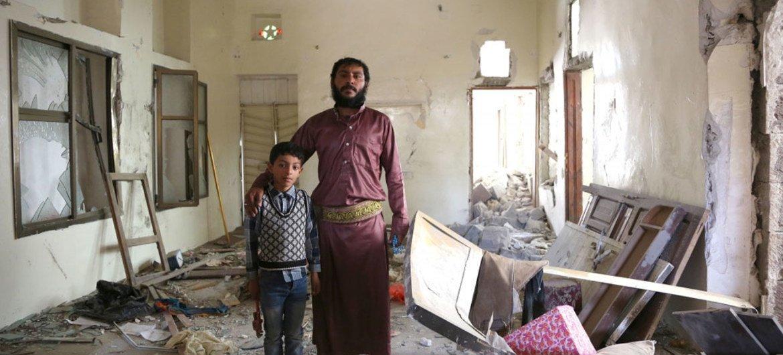 La situación humanitaria en Yemen se deteriora gravemente. Foto de archivo: OCHA/Charlotte Cans