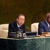 潘基文秘书长。联合国/Loey Felipe