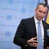 نيكولاي ملادينوف منسق الأمم المتحدة لعملية السلام في الشرق الأوسط