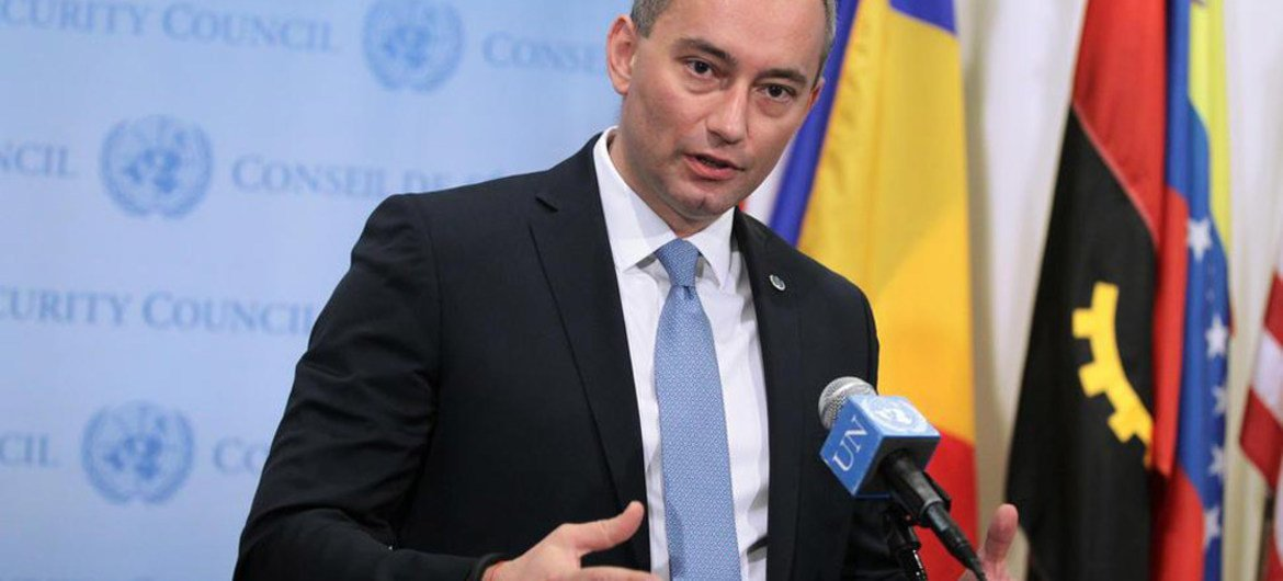Special Coordinator for the Middle East Peace Process, Nickolay Mladenov.