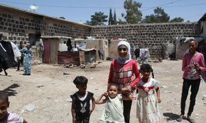 UNRWA temporary collective shelters house some of the most vulnerable Palestine refugee groups, including single women, children, the elderly and the disabled.