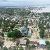 El ciclón Komen ha causado graves inundaciones y mucha destrucción en Myanmar Foto:PMA/Khin Khin Aung