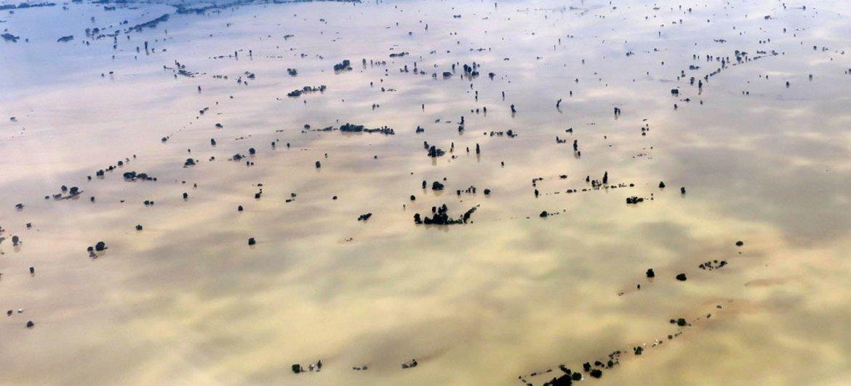 Le cyclone Komen a ravagé l'ouest du Myanmar en août 2015.