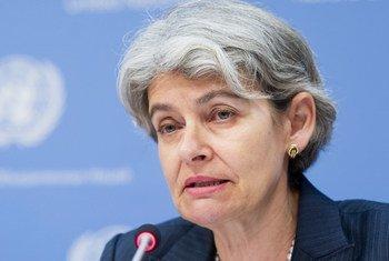 Director-General of the UN Educational, Scientific and Cultural Organization (UNESCO) Irina Bokova.