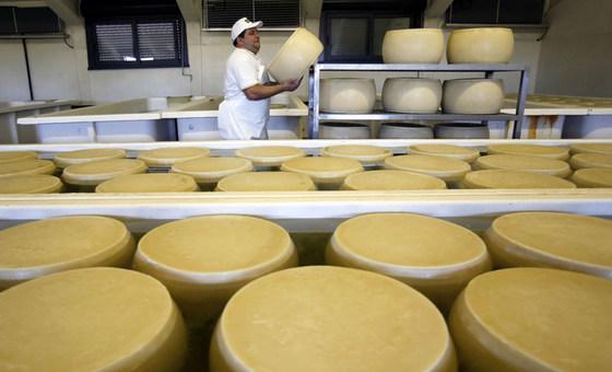 Subida foi impulsionada pelo custo dos laticínios, segundo o Índice de Preços de Alimentos da Organização das Nações Unidas para Agricultura e Alimentação, FAO.