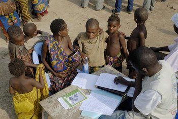 Birth registration for indigenous children takes place in the Republic of Congo, where they suffer disproportionately from the lack of nutritious food and health services