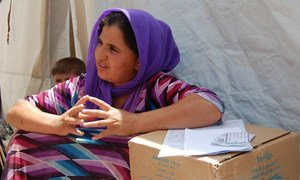 Lack of funds forces WFP to halve its food rations to displaced Iraqis.
