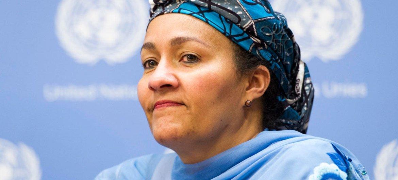 Amina Mohammed ha sido nombrada vicesecretaria general de la ONU. Foto: ONU/Mark Garten