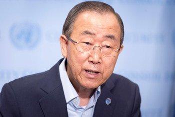 潘基文秘书长资料图片。联合国图片/Eskinder Debebe
