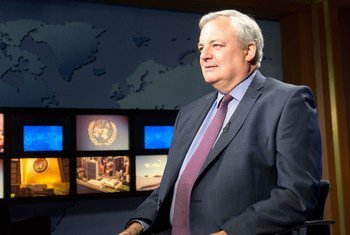 Under-Secretary-General for Humanitarian Affairs and Emergency Relief Coordinator Stephen O'Brien speaks to the UN News Centre.