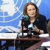 Diane Corner, Jefa adjunta de la Misión Multidimensional Integrada de la ONU para la Estabilización de la República Centroafricana  Foto:ONU/Dany Balepe