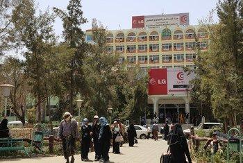 Joumhouri hospital in Sana'a, Yemen.