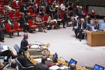 Security Council meets on Kosovo.