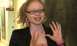 Independent Expert on Albinism Ikponwosa Ero.