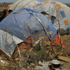 Internally displaced persons uprooted from Xudur and Diinsoor in Somalia due to fear of attacks.